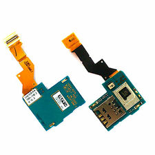 100% Genuine Sony Xperia S LT26i SIM card holder flex+microphone mic PCB reader