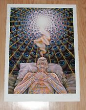 Alex Grey DYING Giclee Fine Art Print Poster S/# of 100 Tool Third Eye Artist
