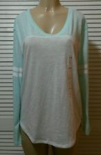 VICTORIA SECRET'S PINK NEW! SLOUCHY V-NECK TEE LARGE