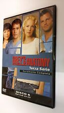 Grey's Anatomy DVD Serie Televisiva Stagione 3 Volume 6 - Episodi 3