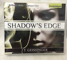 Shadow's Edge 1 by J. T. Geissinger (2012 CD Unabridged) Audiobook Audio CD Book