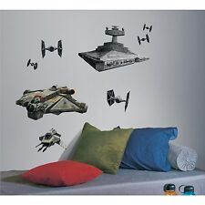 STAR WARS REBEL Wall Decals IMPERIAL SHIPS Room Decor Stickers GHOST Spacecraft