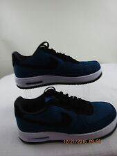 Pre-owned Nike Air Force 1 Elite TXT 'Royal Blue/Black'  Mens Shoe size 11