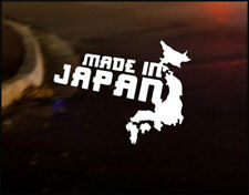 MADE IN JAPAN JDM Japanese car decal sticker Lexus Mazda Mitsubishi Nissan