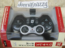 HORI CORDLESS WIRELESS PLAYSTATION 2 3 PS PS2  PS3 CONTROLLER HORIPAD 3 TURBO