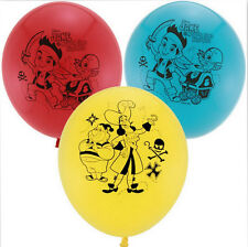 Jake and the Never Land Pirates 12 inch Helium Quality Latex Balloons (6 pack)