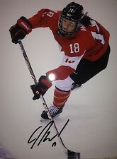 CATHERINE WARD SIGNED WOMENS TEAM CANADA GOLD GAME 8X10 PHOTO W/EXACT PROOF COA