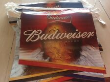 Budweiser pennant flags stringers sign