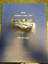 BMW FORMULA ONE 2000: THE RETURN SIGNED BY J BUTTON / R SCHUMACHER & 5 OTHERS