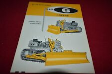 Allis Chalmers HD-6 Crawler Tractor Dozers Dealers Brochure YABE11 VER94