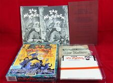 C64: zak McKracken-signed by ron Gilbert, David B. Fox, Matthew Kane