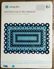 Lifestyle Crafts/Quickutz Nesting Eyelet Rectangles *New*
