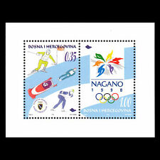 Bosnia 1998 - Winter Olympic Games Nagano Sports - Sc 295 MNH