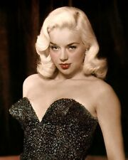 "DIANA DORS 5 ENGLISH ACTRESS SEX SYMBOL MOVIE STAR 8x10"" HAND COLOR TINTED PHOTO"