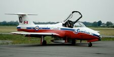 CT-114 Canadair Tutor CT114 CT 114 Airplane Snowbirds Display Wood Model Small