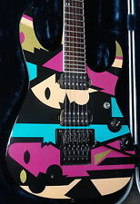 Ibanez JPM P2 John Petrucci! Picasso Collectable Art Work Pastel Colors 1996