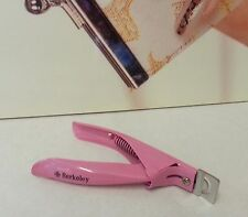 Pink NAIL TIP CLIPPERS Slicer /Quik Clean Cut Edge Cutter for ACRYLIC Nails TIPS