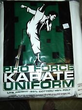 NEW!  Adults Martial Arts Uniform for Karate, Aikido, Tae Kwon Do - White Size 7