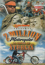 2 MILLION MOTORCYCLES: 24 HOURS OF STURGIS Full Throttle DVD BRAND NEW SEALED