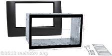 FIAT Stilo Radio Blende Auto Einbau Rahmen Doppel 2 DIN Halterung Metall Schacht
