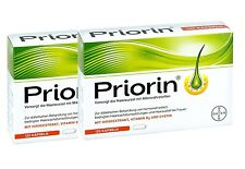Bayer Priorin Anti Hair Loss Growth - 240 Capsules/Box - German Product