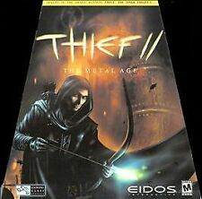 Computer Video Game Thief II The Metal Age COMPLETE 2000 PC Eidos 3 Disc
