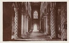 The Nave, Dunfermline Abbey, DUNFERMLINE, Fife RP