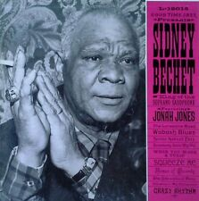 SIDNEY BECHET - KING OF THE SOPRANO SAXOPHONE - GOOD TIME JAZZ - 1956 LP