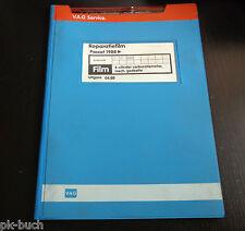 Reparatiefilm Microfich VW Passat B3 35i 4-cil. carburatiemotor mech. gedeelte