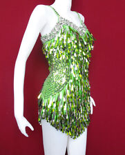 Da NeeNa M009 Salsa Latin Samba Drag Queen Dance Dress  XS-S6