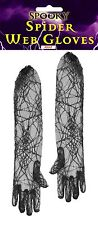 SPIDER WEB GLOVES ELBOW LENGTH FOR HALLOWEEN