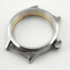 P212 ST36 ETA 6497 6498 Kit Watch Sapphire Glass 43mm Corgeut Sterile Steel Case