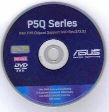 ASUS P5Q Deluxe, P5Q3 Deluxe or P5Q-E Motherboard Drivers Install Disk M1382