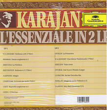 KARAJAN - l'essenziale in 2 LP - DG - ITALY sigillato SEALED