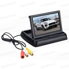"CAR 4.3"" TFT LCD Screen Folded Security Monitor for Backup Camera / DVD / CCTV"