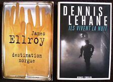 Lot de 74 Rivages thriller et écrits noirs.