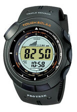 CASIO PROTREK TOUGH SOLAR TRIPLE SENSOR ARMY GREEN WATCH PRG-120-3 PRG-120-3VDR