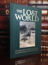 The Lost World by Arthur Conan Doyle Brand New Illustrated Deluxe Cloth Bound