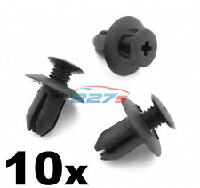 10x 8mm Plastic Trim Clips- Same as Mazda B09251833, Wheel arch & Sill Moulding