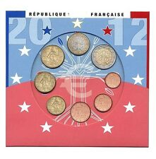 France 2012 - Official (BU) Euro Coin Set **RARE**