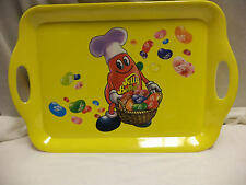 NEW-RARE Large Size Yellow Jelly Belly Serving Tray-Great For Cookouts