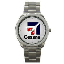 NEW CESSNA LIGHT AIRCRAFT AIRPLANE AVIATION SPORT WATCH