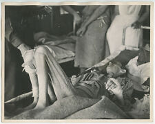 HORROR, FESTERING, BEDFAST JEWISH WOMAN POW 8X10 PHOTO REPRINT