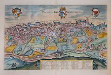 L'ITALIA. TRICARICO in Basilicata da Braun & HOGENBERG c.1620.