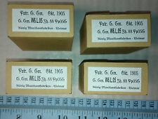 German Ammo box K98  EMPTY   - Imperial / WW1 / Prussia - repro - lot of 6 boxes