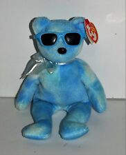 "TY Beanie Babies ""BERRY ICE"" 2007 Summer Retired Teddy Bear with Tags"