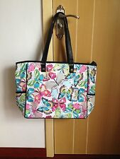 New Thirty One LARGE Cindy utility Tote Shoulder  Bag gifts - Butterfly