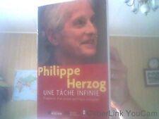 Une tâche infinie : Fragments d'un projet politique européen  de Philippe Herzog