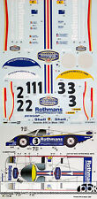 ROTHMANS LE MANS '83 DECAL SET TAMIYA 1/24 PORSCHE 956