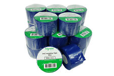 "27 Roll 2""x 36y Insulated Electrical Vinyl PVC Sealing Tape Flame Retardant Blue"